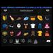 Emoji Keyboard+ Black Grape by WaveStudio