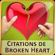 Citations triste cœur brisé by SendGroupSMS.com Bulk SMS Software
