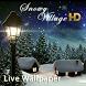 Snowy Village HD LWP by EdgeWay