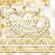 Golden Rose Keyboard Theme by Keyboard Dreamer