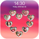 love keypad lock screen by rambutan studio