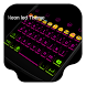 Neon Led -Kitty Emoji Keyboard by Kitty Emoji Keyboard Design