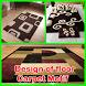 Design of floor carpet motif