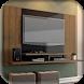 TV Rack Design by KenziDev