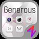 Generous - ZERO Launcher by morespeedgoteam