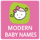 Modern Popular Baby Names & Meanings by BabyOnBoard