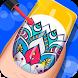 Star Girl Nail Art - Color & Design