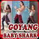 kumpulan video goyang baby shark viral