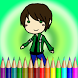 Coloring Free Game by Doraemon Coloring Kids