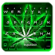 Neon Rasta Weed Keyboard Theme by Fancy Theme for Android keyboard