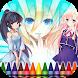 100 Princess Anime To Paint