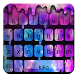 Liquid Galaxy Droplets Keyboard Theme by Fancy Keyboard for Android Apps