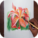 Learn to Draw a Flower by Robert Sandoval