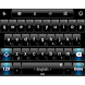 Theme TouchPal Dusk Black Blue by Luklek