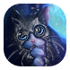 Playful kitty live wallpaper by smyaral