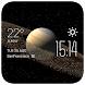 Saturn weather widget/clock by Widget Dev Team