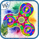 Fidget Spinner Coloring Book Pages Mandala by Wild Studio Motion