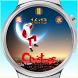 Christmas watch face by PD Classic Inc.