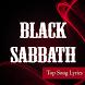 Black Sabbath Top Lyrics by shikagie
