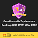 Exam Practice: IBPS, SSC, CDS by Jagran, Jagran Josh, OnlyMyHealth