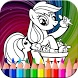 pony coloring page new free by kanatan game kid's