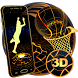 Neon Tech Basketball 3D Theme by Elegant Theme