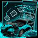 Neon Car Theme by Cool Theme Love