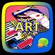 (FREE) GO SMS ART THEME by ZT.art