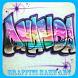 Graffiti Name Art by Tatadroid
