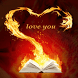 Fiery Love Book LWP by Daksh Apps