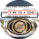 CHRYSLERPanasonic TM9-Serial Radio Code Decoder by Radiocode24.de