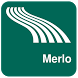 Merlo Map offline by iniCall.com