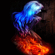 Fiery Rose Girl LWP by Daksh Apps