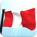 Peru Flag 3D Live Wallpaper by I Like My Country - Flag