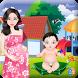 Change Diaper And Feeding Baby by Zync Studio