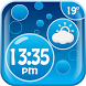 Bubbles Weather Clock Widget by Fun Apps & Games KS