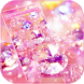 Pink Diamond Glitter Theme