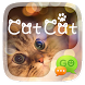 (FREE) GO SMS CAT CAT THEME by ZT.art