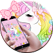 Cute Unicorn Rainbow Theme by Beauty Stylish Theme