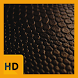 Black Leather HD FREE Wallpaper by FarrayStudio