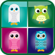 Cute Owl Matching Game by Kaya