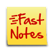 FastNotes Widget - Donation by Jay Zhang