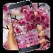 pink sakura spring keyboard by Super Keyboard Theme