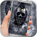 Hell horrible skull theme by Neon launcher theme - wallpapers