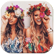 Snap Flower Crown Photo Maker by goldfishyofdeve