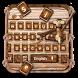 Wooden Keyboard Theme