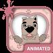 Lovely Dog Animated Keyboard by Wave Design Studio