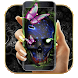 Dark Skull Gothic Theme by Cool Theme Love