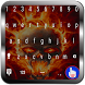 Hell Fire Skull Keyboard by Todaysapps