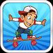 Crazy Skate Surfer Boy by F&F_Apps